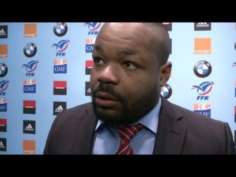 Rugby - XV de France : Bastareaud, «Une joie mesurée»