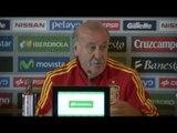 FOOT - BLEUS : Del Bosque, «Un match complètement différent»