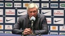FOOT - L1 - PSG - Ancelotti : «Je n'ai rien dit aux joueurs !»