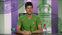 TENNIS - WIMBLEDON : Djokovic a eu chaud !