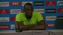 Athlé - LD - Paris: Bolt «Je sais ce qui me reste à faire»