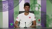 TENNIS - WIMBLEDON : Djokovic s'en satisfait