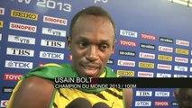 ATHLE - ChM - 100m - Bolt : «Je suis une légende»
