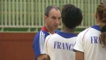 HAND - BLEUES : La première d'Alain Portes