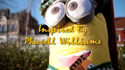 Pharell Williams  HAPPY we are from Orchies HD (France). Version complète!