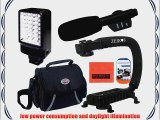Accessory Package For Sony HDR-AS100V HDR-AS100VR HDR-CX380 HDR-CX430V HDR-CX580V HDR-CX760V