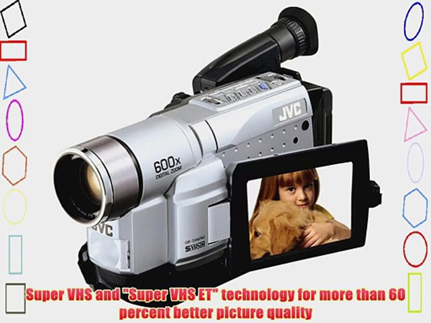 Jvc Gr Sxm740u Super Vhs C Camcorder With 3 5 Lcd Video Dailymotion