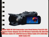 Canon VIXIA HF G30 Full HD Camcorder - BUNDLE - with 32GB Class 10 Memory Card Lowepro Camcorder