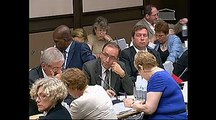 Auditions de M. Jean-Louis Beffa, pdt d'honneur de Saint-Gobain et de M. Louis-Schweitzer, pdt d'honneur de Renault, sur la relance de la politique industrielle - Mercredi 18 Juillet 2012
