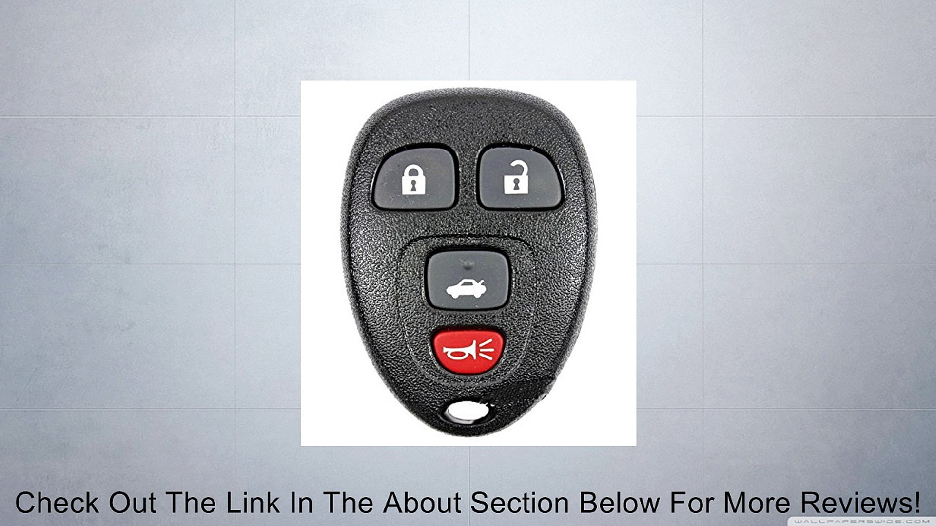 Parts & Accessories NEW PAIR KEYLESS REMOTE ENTRY KEY FOB CLICKER ALARM 15252034 4 BUTTON FOR GM