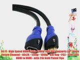 Aurum Ultra Series - High Speed HDMI Extension Cable Male - Female (50 Ft) With Ethernet -