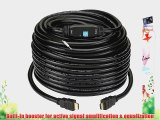 Kanex Pro Ultra 4K HD High-Resolution HDMI Cable with Built-In Signal Booster CL3 Rated Ethernet