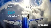 ZAP DU WEEK-END #39 : Atterissage en formation / Thug life Homme VS Ours / Mixer des aimants / Perdu dans les nuages