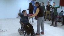 Engelli Okçu Burakhan'ın Hedefi Milli Takım