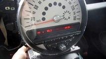 mini cooper son radar de recul autoradio origine