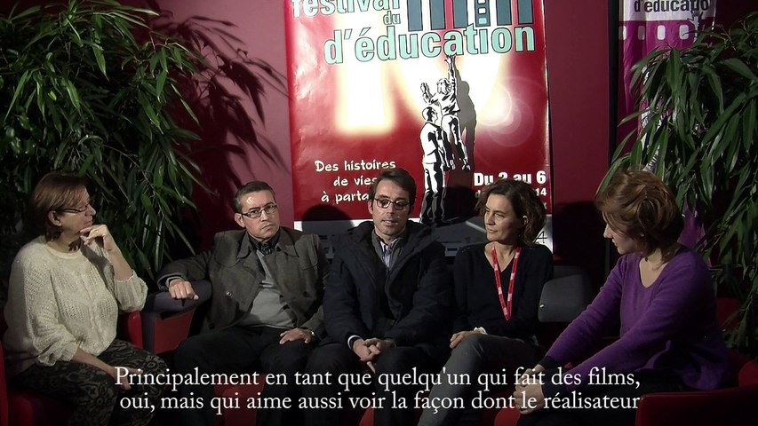 Le Grand Jury - Festival Européen du Film d'Education 2014
