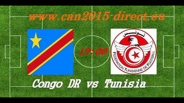 Regarder Match  Congo DR vs Tunisie En Direct Gratuitement