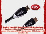 FORSPARK High Speed Ultra HDMI Cable 33ft 24AWG CL3 Rated For In-Wall-Installation HDMI Cable