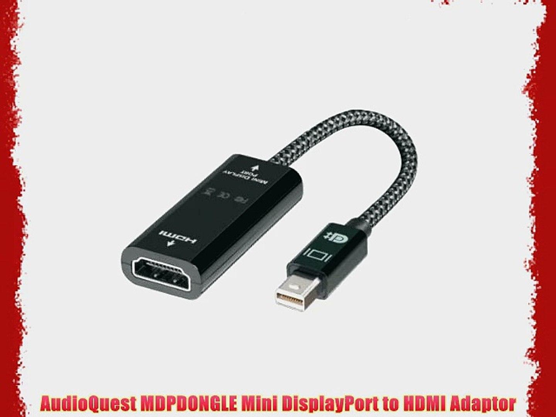 AudioQuest MDPDONGLE Mini DisplayPort to HDMI Adapter