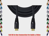 GE Ultra ProGrade 1.3b Digital HDMI Cable In-Wall Rated - 25-Foot