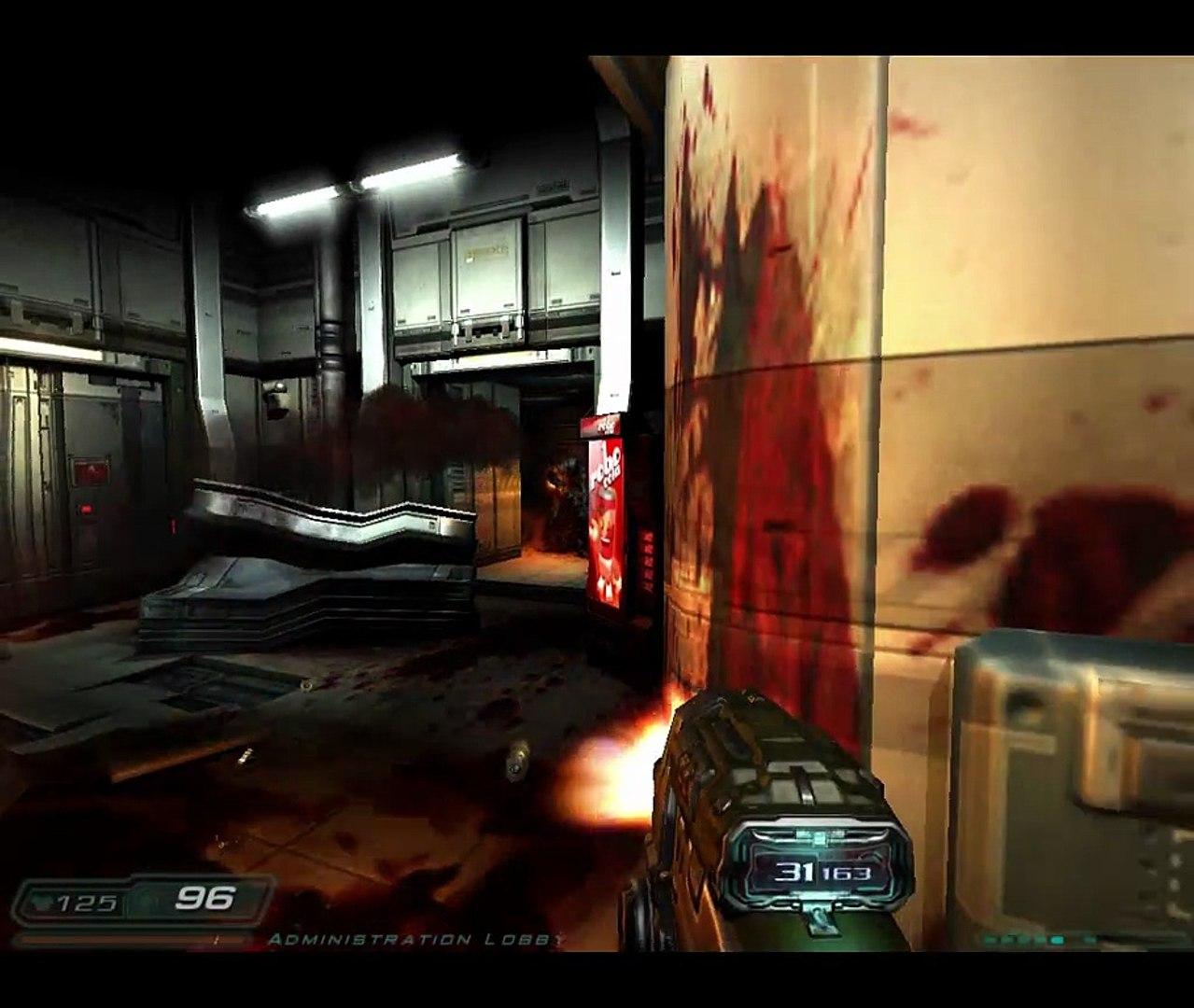 Doom 3 Gamepad Testing using Several KB+M Programs