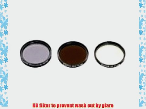 CPL Polarizer Filter Lens 58mm for Canon GL1,GL2,XM2