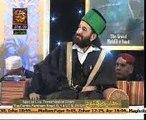 Tasleem Ahmed Sabri ary qtv live Eidgah shareef Uk Slough Mehfil 23 Jan 2015 live