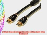 Aurora HS-100 Hyper Speed HDMI 1.4 Cable 10 Ft 26 AWG with 3D Ethernet Audio Return High-End