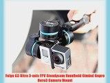 Feiyu G3 Ultra 3-axis FPV Steadycam Handheld Gimbal Gopro Hero3 Camera Mount