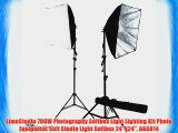 LimoStudio 700W Photography Softbox Light Lighting Kit Photo Equipment Soft Studio Light Softbox