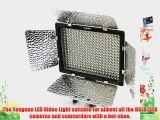 EVERSTAR? Yongnuo YN300 LED video light With 300pcs Lamps for Camcorder DSLR Camera Canon EOS