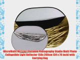 MicroMall(TM) 5 in 1 Portable Photography Studio Multi Photo Collapsible Light Reflector 150x