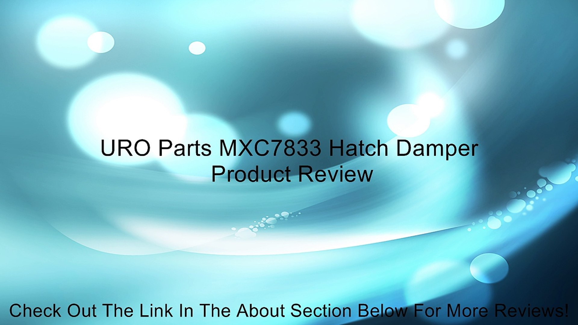 URO Parts 06B 109 477A Timing Belt Tensioner Damper