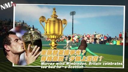 Wimbledon 2013: Scotsman Andy Murray wins, Britain celebrates!?