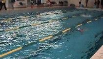 Championnat départemental UNSS Natation Lycées Relais 4x50m 4 Nages