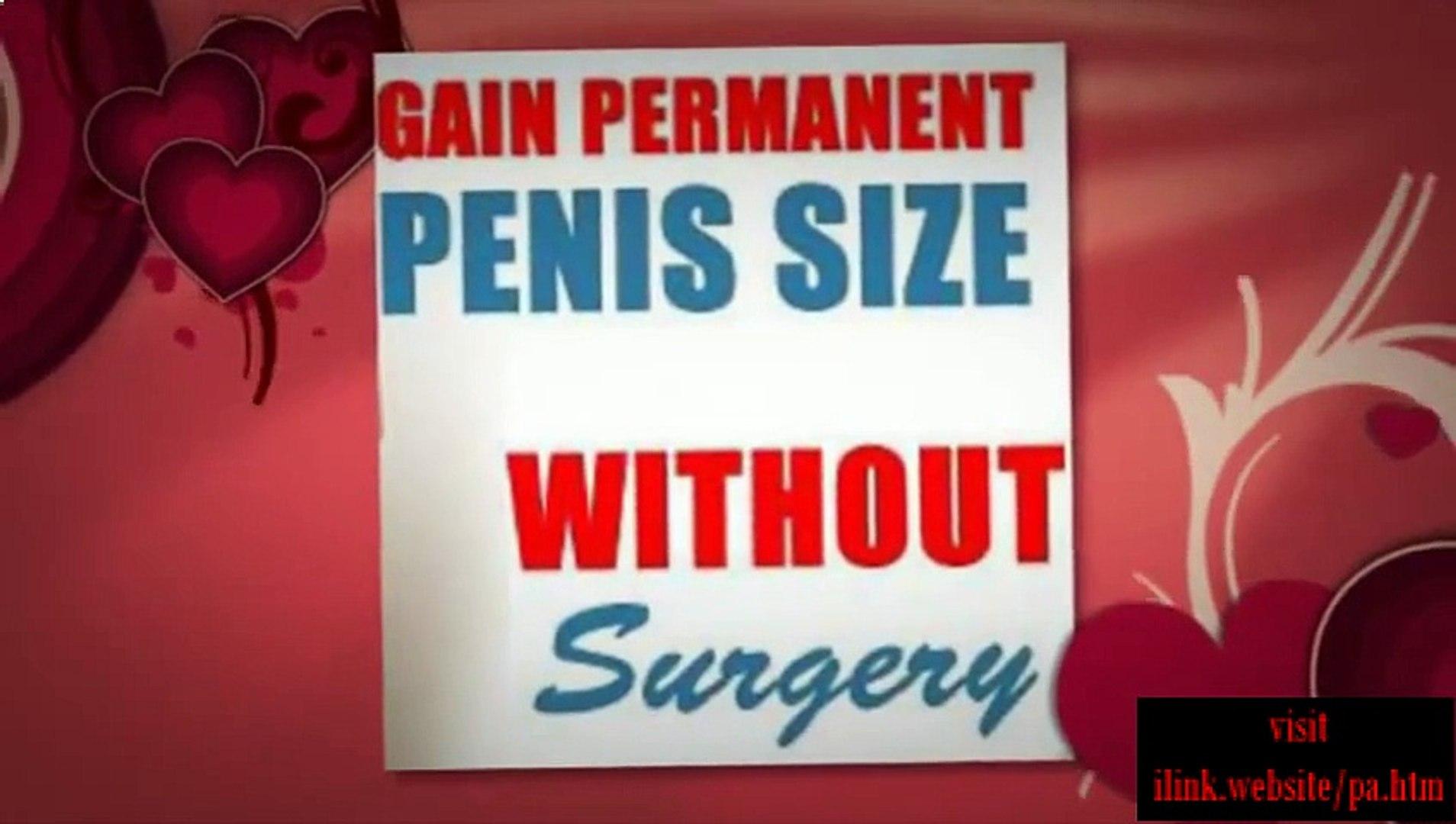 Penis Enhancement Products