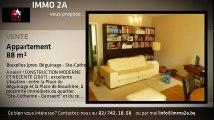 A vendre - Appartement - Bruxelles - Bruxelles (prox. Béguinage - Ste-Catherine) (prox. Béguinage - Ste-Catherine) - Bruxelles (prox. Béguinage - Ste-Catherine) (1000) - 88m²