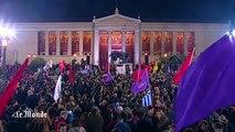 Tsipras promet un tournant en Grèce