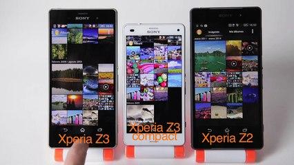 Comparamos los últimos smartphones de Sony: Xperia Z2, Xperia Z3 y Z3 Compact