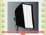 Westcott 4836 36 x 48 Inch Large Softbox with White Interior (Black)