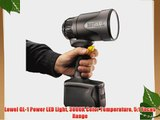 Lowel GL-1 Power LED Light 3000K Color Temperature 5:1 Focus Range