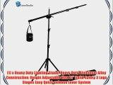 LimoStudio Heavy Duty Umbrella Softbox Flash Light Boom Light Stand Lighting Kit for Photo
