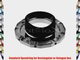 Fotodiox 10SPRPPT Speedring for Profoto Compact Lights Series D1 250  D1 500  D1 Air 1000