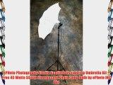 ePHoto Photography Studio Continuous Lighting Umbrella Kit   Free 45 Watts 5500k Fluorescent