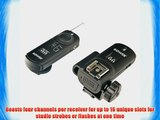 Bower RCRN1  3-in-1 Advanced Wireless Remote and Trigger for Nikon D300S D700 D300 D3X D3 D3S