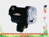 Underwater Strobe Sea and Sea YS-01 and Fantasea Blueray Tray Flex Package