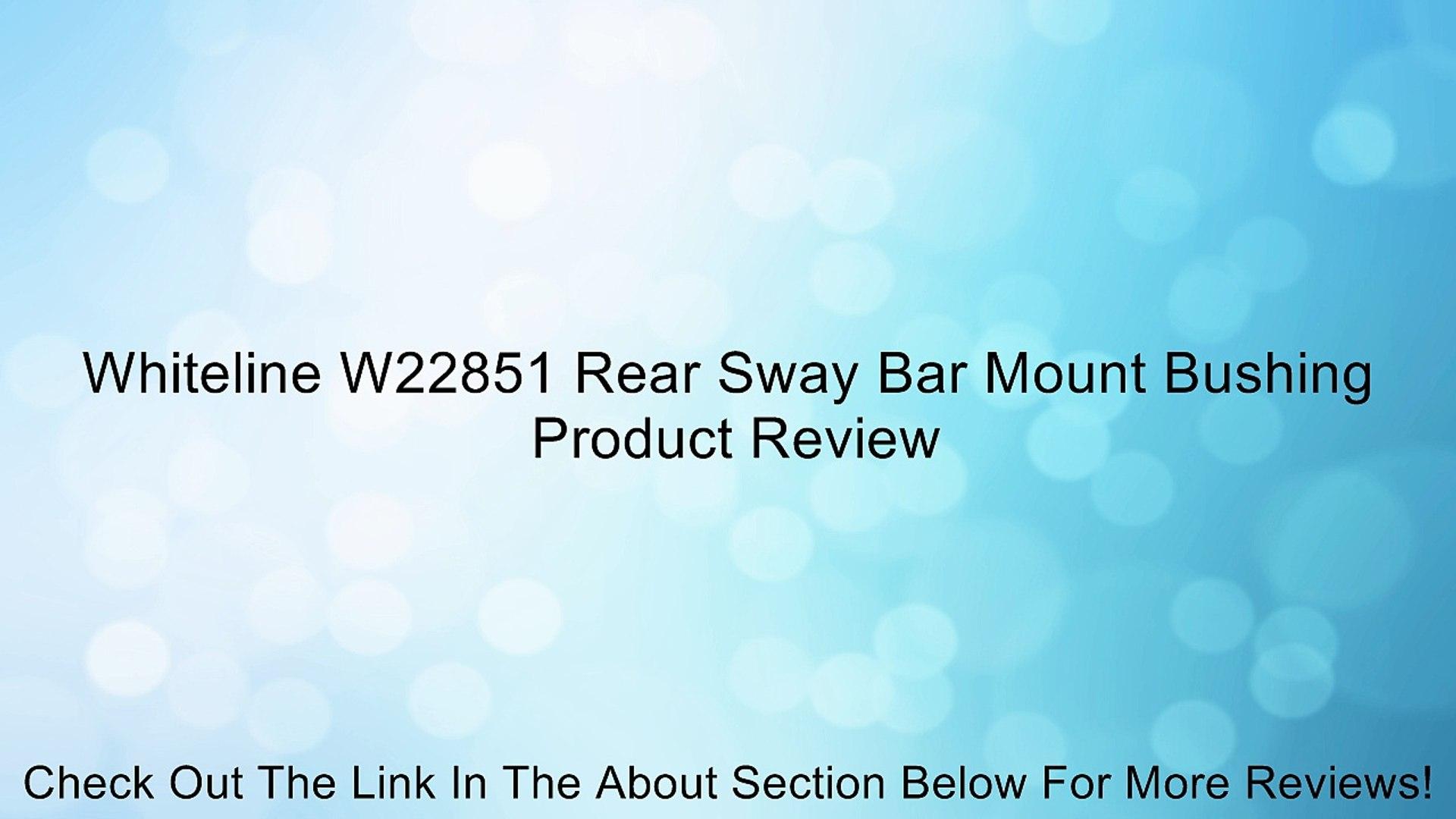 Moog K3110 Sway Bar Bushing Kit