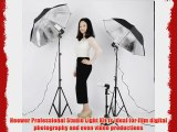 Neewer? Photography Studio 600W Day Light Umbrella Continuous Lighting Kit with 2 Umbrellas