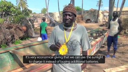 Little Sun at Palmarin, Dakar Senegal