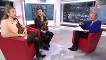 Sarah et Déborah Nemtanu : deux soeurs virtuoses du violon réunies sur un même album